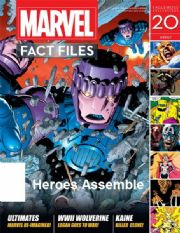 Marvel Fact Files #20 Eaglemoss Publications